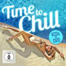CD DVD Time To Chill von Various Artists 4CDs und DVD