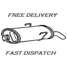 PEUGEOT 106 1.1 1.4 09/00 - 04 PG631 REAR EXHAUST BACK BOX SILENCER WITH CLAMP