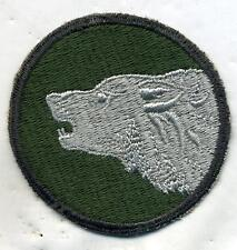 WWII WW2 US Army 104th Infantry Division Timber Wolf Patch Cut Edge