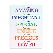 You Are Amazing Important Inspirational Friendship Gift Fridge Magnet 4x3 inch