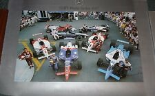 INDY CAR-cart World Series 1997 MERCEDES POSTER GREG Moore-Dario franhitti