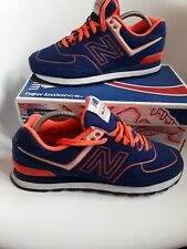 New Balance mens  trainers Size 9 limited edition blue orange