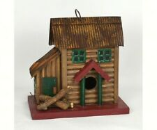 Two-Story Cabin Birdhouse by Songbird Essentials