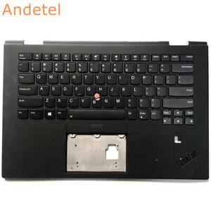Lenovo ThinkPad X1 Yoga 2nd 20JD 20JE Palmrest Cover US English Keyboard Backlit