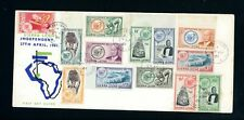 Sierra Leone 1961  Independence Cover (13)  Slight Foxing    (Jy332)