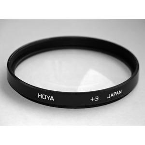Hoya Close Up +3 Macro Filter: 49mm