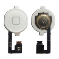 BOTON FLEX HOME MENU KEYPAD PARA APPLE IPHONE 4 BLANCO
