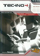 TECHNO EJAY 4 - Music Track Creation Studio - PC CD-ROM Brand New UK