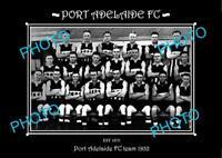 SANFL LARGE HISTORIC PHOTO OF THE PORT ADELAIDE FC TEAM 1932