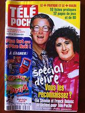 b)Télé Poche 17/11/2003; Elie Semoun et Dubosc/ Jean Claude Van Damne/ Afleck Be