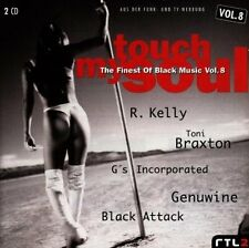 Touch my Soul 08 (1997) R. Kelly, Ginuwine, Toni Braxton, Roots, Eterna.. [2 CD]