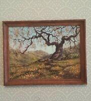 Dollhouse miniature framed print of original painting by Barbara Stanton, 1:12