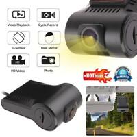 USB Hidden Car DVR Camera Driving Video Recorder+Mic Android Car GPS Dash Cam