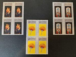 New Zealand Blocks Mint Set See Pics