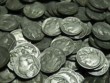 1 LB. One Pound (16 oz.) Indian Buffalo Head Nickels Old US Coin Lot Mixed Dates