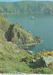 Channel Islands Postcard - Port Es Saies and Grande Greve, Sark  RR8864