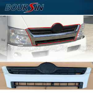 Front Radiator Grille For Hino 155 195 300 Box Flatbed Chipper Truck 2012-2020