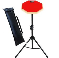 Keepdrum DP-RD SET Practice Pad mit DPS Übungspadständer und Tasche