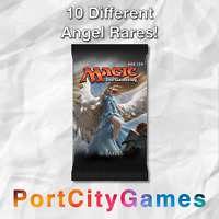 Collection of 10 Angel Lot Magic MTG w/ ALL Rares & Mythic Rares!