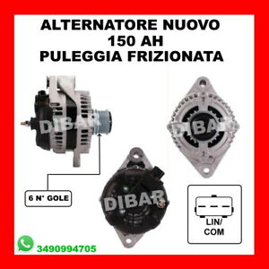 ALTERNATORE NUOVO 150 AH FIAT FREEMONT 2.0 JTD DAL 2011 104210-1840