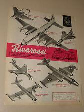 RIVAROSSI MODELLISMO=ANNI '50=PUBBLICITA=ADVERTISING=WERBUNG=531