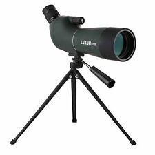 LU2000 Angled Zoom Spotting Scope Telescope, High Power 20-60X60 Waterproof Zoom