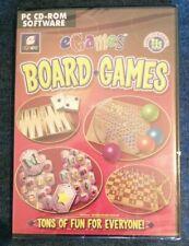 EGames Brettspiele tonnenweise Spaß-PC CD-ROM Spiel * NEU/VERSIEGELT *