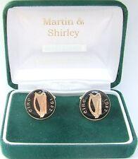 1982 Gemelli Irlandesi fatti da vecchi IRLANDA MONETE in nero e oro