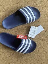 Adidas Sliders Mens / Boys/ Girls Sliders Adilette Aqua Beach Shoes 6 BNWT New