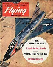 RAF FLYING REVIEW FEB 55 ORIGINAL: YUGO AIR POWER/ ZERO/ BAROUDER CUTAWAY/GNAT