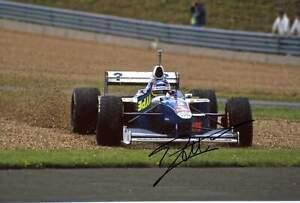 Jacques Villeneuve SAUBER HOCKENHEIM 2018 autograph, In-Person signed photo