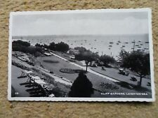 .POSTCARD. REAL PHOTO.OF CLIFF GARDENS,LEIGH-ON-SEA.POSTED.