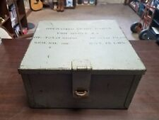 1940 WWII Operating spare parts for model za instrument landing equipment box