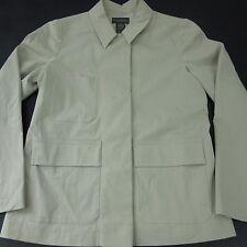 Banana Republic Womens XS Stretch Snap Button Creme Boyfriend Blazer Jacket NWT