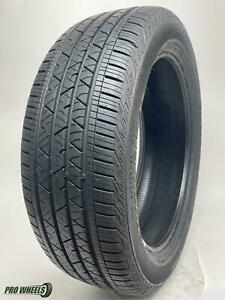 (1) P245/50R20 Continental Cross Contact LX Sport Used Tire  10/32