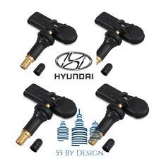 Set Of 4 Genuine Oem Hyundai 15 18 Sonata Tpms Tire Pressure Sensors Kit