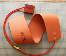"6""X36"" 550W 220V Guitar Side Bending Silicone Heat Blanket w/Digital Controller"