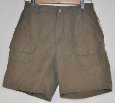 COLUMBIA Taupe NYLON/Cotton WOMEN'S Shorts HIKING Camping CARGO Khaki Sz 6 GUC
