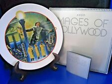 """Avon Images Of Hollywood """"Singing In The Rain"""" Plate 1986"""
