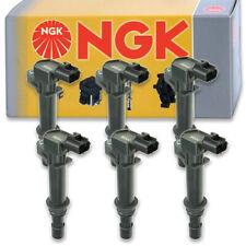 6 pcs NGK 48651 Ignition Coil for U5053 178-8483 UF270T E232 UF270 36-8094 nf