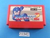 Rockman 2 Megaman NES nintendo Famicom FC Video Games USED From Japan 21341
