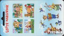 Estonia 825-828MH stamp booklet MNH 2015 Lotte