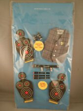 GILBERT MAN FROM UNCLE 1965 Action Figure Accessories U.N.C.L.E Target CARD