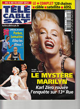 TELE CABLE SAT 1161 MARILYN MONROE / AOUT 2012