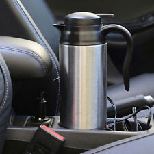 Auto KFZ Wasserkocher Teekocher 12V 750ml Heizung Reise In-Car Kettle Edelstahl