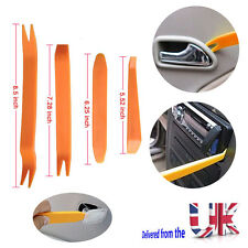 Universal Car Radio Door Clip Panel Trim Dash Audio Removal Installer Pry Tool