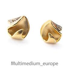 8ct Gold Ohrstecker Ohrringe Diamant earring diamond 333 8k