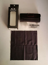 Oakley Lens Cleaning Kit Accessories Cloth Cleaner NIB