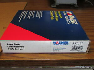 NEW Wagner F87370 REAR Parking Brake Cable