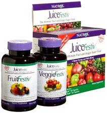 Natrol Juicefestiv Capsules Daily Fruit And Veggie Juice Festiv 120 Ct Probiotic